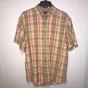 Pendleton Men's Plaid Shirt Sleeve Shirt L